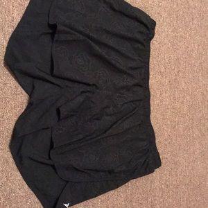 XXL black active wear shorts